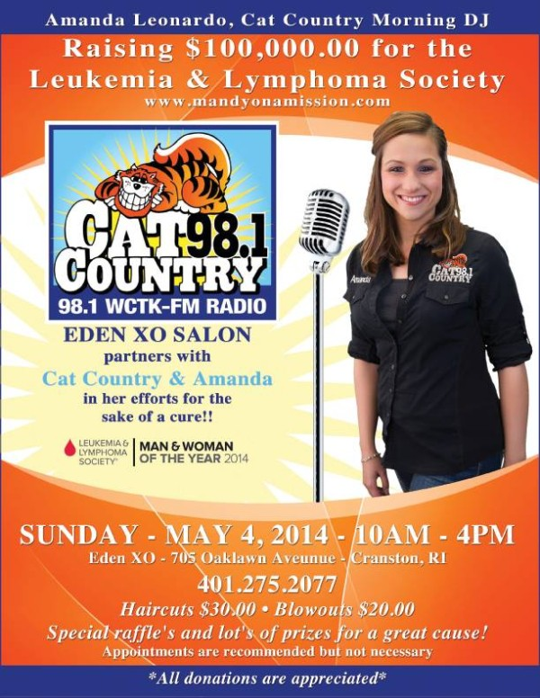 Cat County 98.1 & Eden XO