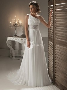 slim-line-wedding-gown-with-one-shoulder-neckline-and-corset-closure
