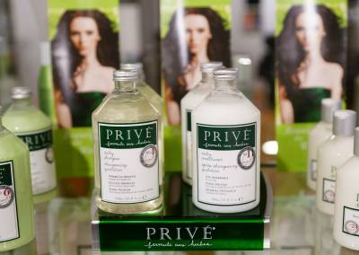 Prive' shampoo & Prive' conditioner