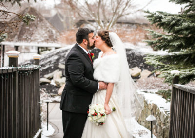 Wedding with a Touch of Snow